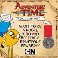 [Adventure Time - Be A Noble Hero At MCM This Weekend (Product Image)]