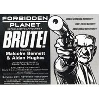 [Malcolm Bennett and Aidan Hughes signing Brute! (Product Image)]
