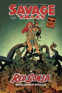 [The cover for Savage Tales: Halloween Special: One Shot # (Cover A Durso)]