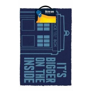 [Doctor Who: Door Mat: Its Bigger On The Inside (Product Image)]