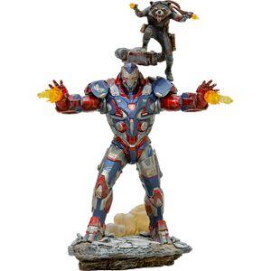 [Avengers: Endgame: Art Scale Statue: Iron Patriot & Rocket (Product Image)]