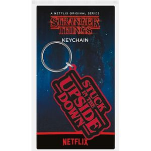 [Stranger Things: Keyring: Stuck In The Upside Down (Product Image)]
