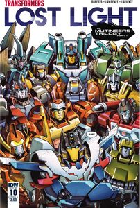 [Transformers: Lost Light #10 (Cover A Lawrence) (Product Image)]