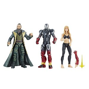 [Marvel Cinematic Universe: 10th Anniversary Marvel Legends Action Figure 3-Pack: Iron Man 3 (Product Image)]