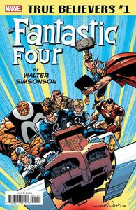 [True Believers: Fantastic Four: By Walter Simonson #1 (Product Image)]