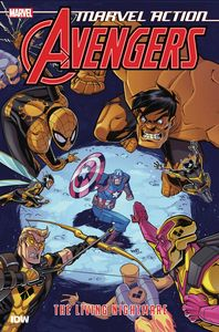 [Marvel Action: Avengers: Book 4: The Living Nightmare (Product Image)]
