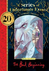 [A Series of Unfortunate Events: The Bad Beginning (20th Anniversary Gift Edition Hardcover) (Product Image)]