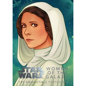 [Star Wars: Women Of The Galaxy 100 Postcards (Product Image)]
