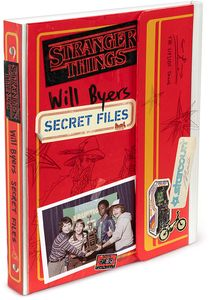 [Stranger Things: Will Byers Secret Files (Hardcover) (Product Image)]