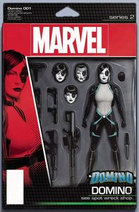 [Domino #1 (Christopher Action Figure Variant) (Product Image)]