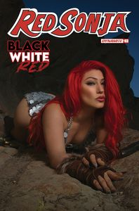 [Red Sonja: Black White Red #3 (Cover D Cosplay) (Product Image)]