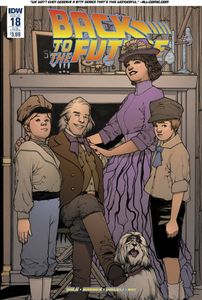 [Back To The Future #18 (Subscription Variant) (Product Image)]