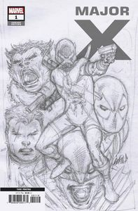 [Major X #1 (3rd Printing Liefeld Ratio Variant) (Product Image)]