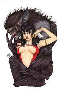 [Vampirella #25 (Cover U Lacchei Virgin Variant) (Product Image)]