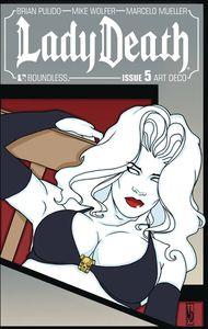 [Lady Death #5 (Art Deco Variant) (Product Image)]