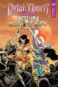 [Dejah Thoris Vs John Carter Of Mars #3 (Cover C Miracolo) (Product Image)]