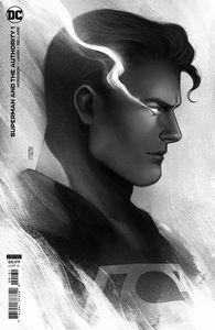 [Superman & The Authority #1 (Jen Bartel Headshot Cardstock Variant) (Product Image)]