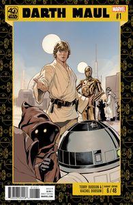 [Star Wars: Darth Maul #1 (Star Wars 40th Anniversary Variant) (Product Image)]