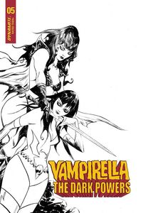 [Vampirella: Dark Powers #5 (Lee Black & White Variant) (Product Image)]
