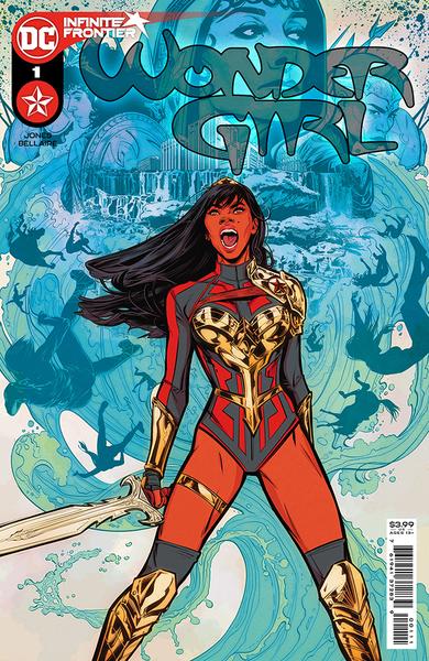 [The cover for Wonder Girl #1 (Cover A Joelle Jones)]