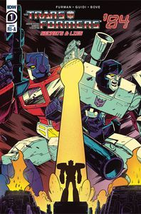 [Transformers: 84 Secrets & Lies #1 (Roche Variant) (Product Image)]