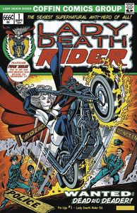[Lady Death Pin Ups #1 (Lady Death Rider Edition) (Product Image)]