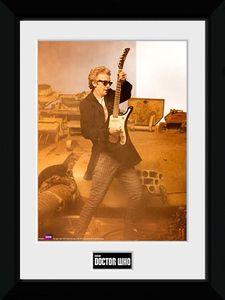 [Doctor Who: Framed Print: Guitar Portrait (Product Image)]