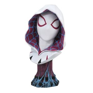 [Marvel: Legends In 3D 1:2 Scale Bust: Spider-Gwen (Product Image)]