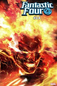 [Fantastic Four #14 (Inhyuk Lee Immortal Human Torch Variant) (Product Image)]
