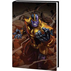 [Thanos: Infinity Saga: Omnibus (DM Variant Hardcover) (Product Image)]