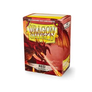 [Dragon Shield: Card Sleeves: Classic Red (Box Of 100) (Product Image)]