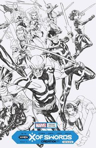 [X Of Swords: Creation #1 (Brooks Wraparound Inks Variant) (Product Image)]
