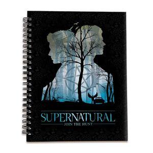 [Supernatural: Spiral Notebook (Hardcover) (Product Image)]