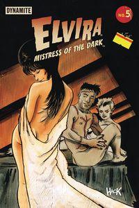 [Elvira: Mistress Of Dark #5 (Cover C Hack) (Product Image)]