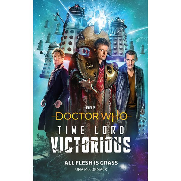 [The cover for Doctor Who: Time Lord Victorious: All Flesh Is Grass (Hardcover)]