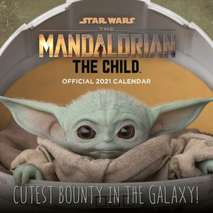 [Star Wars: The Mandalorian: The Child: 2021 Square Calendar (Product Image)]