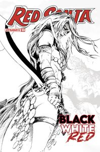 [Red Sonja Black White Red #3 (Cover F 1 Lau Black & White Line) (Product Image)]