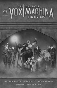 [Critical Role: Vox Machina Origins: Series II #1 (Forbidden Planet Exclusive Kit Buss Variant) (Product Image)]
