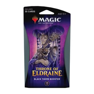 [Magic The Gathering: Throne Of Eldraine: Black Theme Booster (Product Image)]