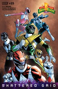 [Mighty Morphin Power Rangers #25 (Unlockable Variant) (Product Image)]