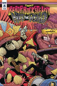 [TMNT: Bebop & Rocksteady Hit The Road #4 (Cover A Pitarra) (Product Image)]