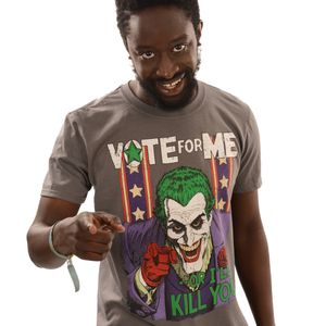 [DC Comics: Batman: T-Shirt: The Joker Vote For Me (Product Image)]