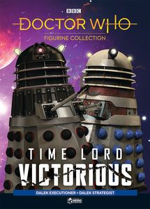[Doctor Who: Time Lord Victorious Figure Collection #3: Dalek Executioner & Dalek Strategist (Product Image)]