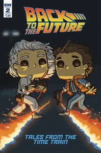 [Back To The Future: Time Train #2 (Cover B Funko Wolfe) (Product Image)]