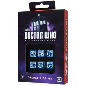 [Doctor Who: Deluxe Dice Set (Product Image)]