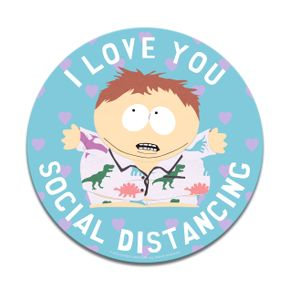 [South Park: Coaster: I Love Social Distancing (Product Image)]
