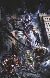 [Tony Stark: Iron Man #13 (Clayton Crain Virgin Variant) (Product Image)]