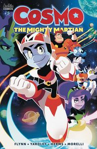 [Cosmo: The Mighty Martian #5 (Cover C Herms) (Product Image)]