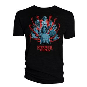 [Stranger Things: Season 3: T-Shirt: The Gang's All Here (Product Image)]