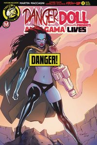 [Danger Doll Squad Presents: Amalgama Lives #2 (Cover D Celor Ris) (Product Image)]